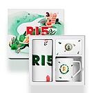 OPPO 原廠 R15系列 春之邂逅禮盒組 (內含小清新環保購物袋+春意馬克杯+指環支架)