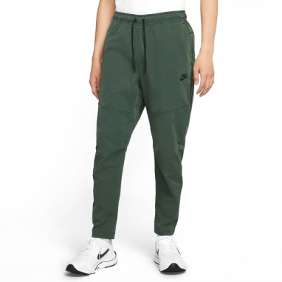 NIKE 長褲 健身 訓練 運動長褲 男款 綠 CU4484-337 AS M NSW TE PANT WVN