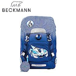 Beckmann-兒童護脊書包22L-藍色賽車