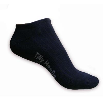 TiNyHouSe舒適襪 厚底船襪 (T-01尺碼F) 黑色<b>2</b>入