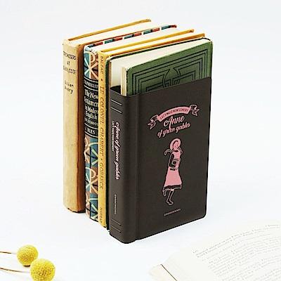 bookfriends 世界文學仿書金屬書擋-紅髮安妮-右