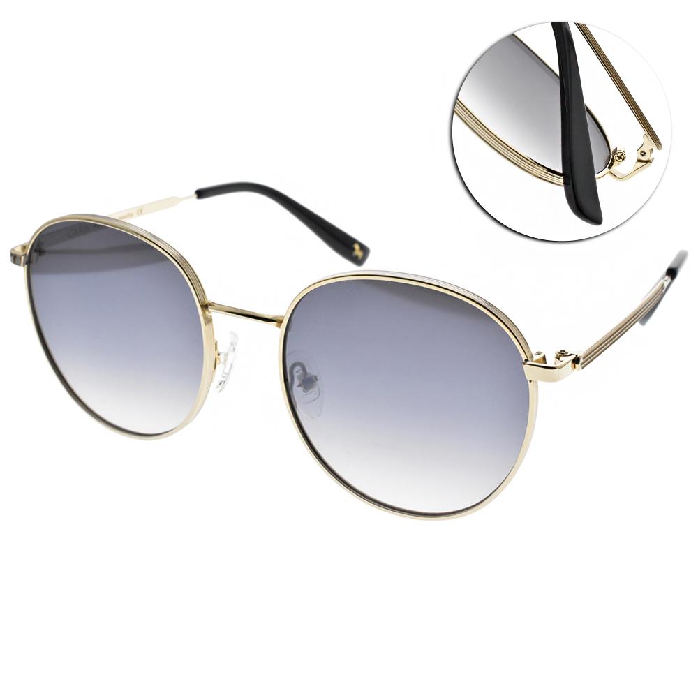 CARIN太陽眼鏡 秀智代言 造型圓框款/金-漸層藍 #KATHARINE C1