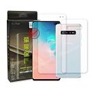 霧面BorDen螢幕保鏢 Samsung S10+ 滿版自動修復保護膜(前後膜)