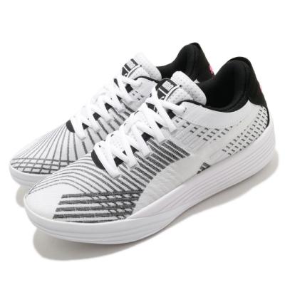 Puma 籃球鞋 Clyde All-Pro 運動休閒 男鞋 輕量 高回彈 包覆 穩定 緩衝 白 黑 19403903