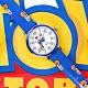 Disney 迪士尼 玩具總動員 胡迪 巴斯光年 兒童卡通錶 皮革手錶-白x藍/32mm product thumbnail 1