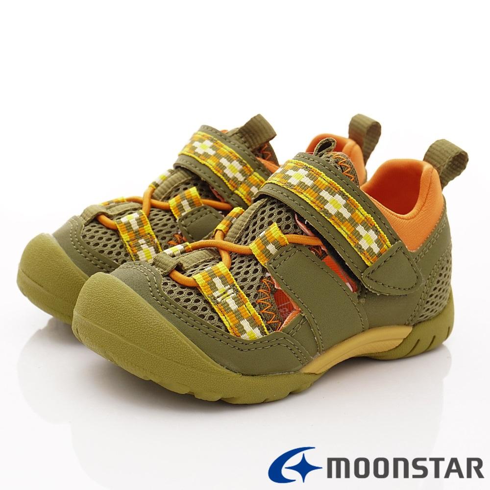 日本Carrot機能童鞋 2E玩耍速乾公園鞋 TW2313綠(中小童段)