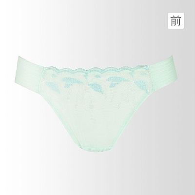 蕾黛絲-零死角高脅真水搭配低腰內褲M-L(珍珠湖綠)