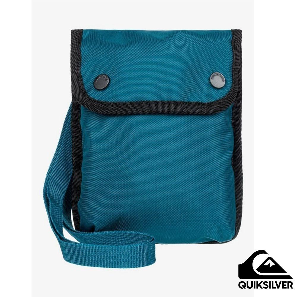 【QUIKSILVER】CARRIER SATCHEL 包包 藍綠