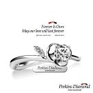 PERKINS 伯金仕 - Rose系列 18K金 0.20克拉鑽石戒指