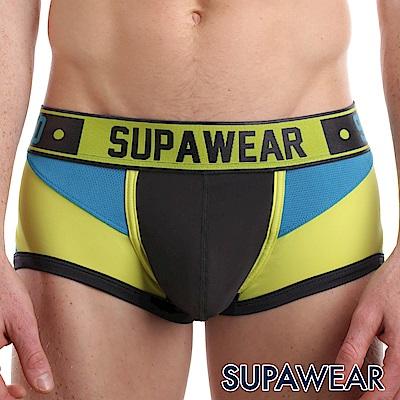 SUPAWEAR Bionic系列超彈性型男四角內褲(黑色)