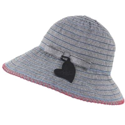 VIVIENNE WESTWOOD 抗UV素材行星圖騰LOGO造型遮陽帽(單寧黑)
