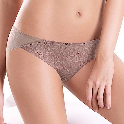 黛安芬-輕呼吸花漾系列低腰內褲 M-EL 乾燥玫瑰