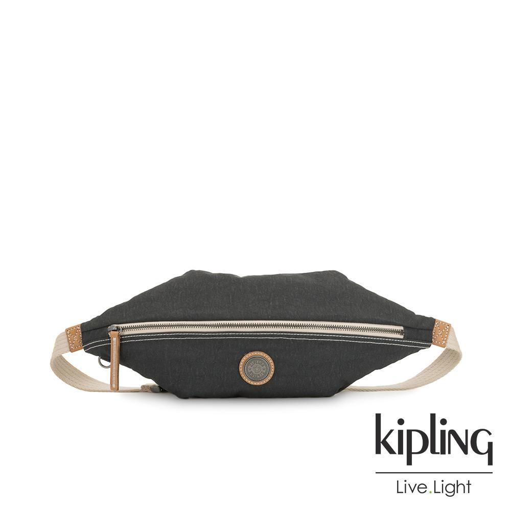 Kipling 城市探索霧灰六角腰包-YOKU-EDGELAND系列