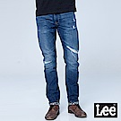 Lee 中腰標準小直筒牛仔褲-中色洗水
