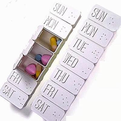 香草花園 一周7天藥盒(超值2入)