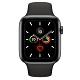 Apple Watch Series 5(GPS) 44mm太空灰鋁金屬錶殼+黑色運動錶帶 product thumbnail 1