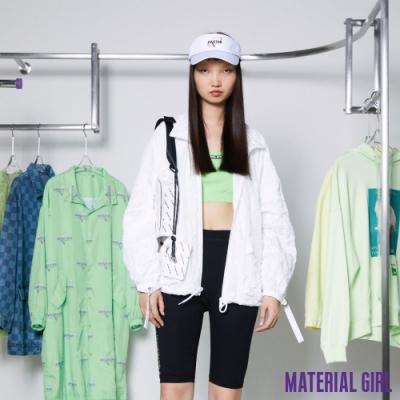 MATERIAL GIRL 素色LOGO小可愛【20春季款】-ZA1116