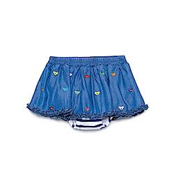 WHY AND 1/2 mini 天絲棉牛仔短裙-內小褲 1Y~4Y