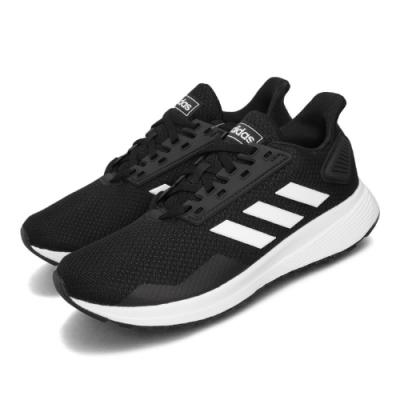 adidas 慢跑鞋 Duramo 9 寬楦 運動 童鞋