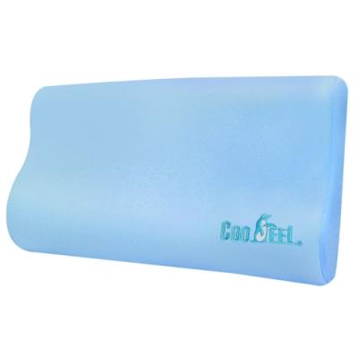 CooFeel 台灣製造高級酷涼紗高密度酷涼記憶枕