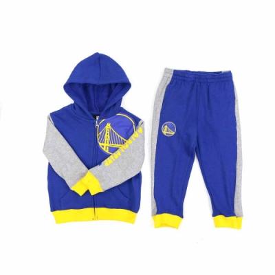 NBA 幼兒 長袖 運動套裝 勇士隊