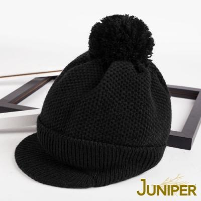 JUNIPER女款防寒針織翻邊運動保暖毛線冬帽