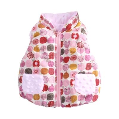 嬰幼兒台灣製鋪棉背心外套 b0215 魔法Baby