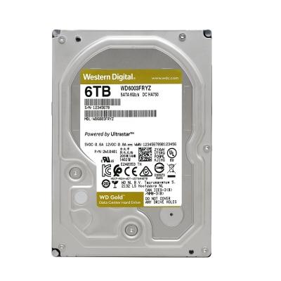 WD金標 6TB 3.5吋企業級硬碟 WD6003FRYZ
