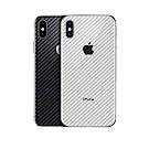 御殼坊 Apple iPhone X/XS 背面保護貼抗刮(碳纖紋背貼)超值2片入
