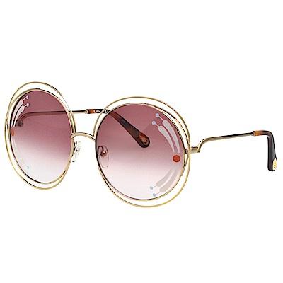 CHLOE  太陽眼鏡(金色)CE114SRI