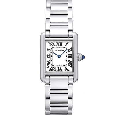 CARTIER 卡地亞 TANK MUST(WSTA0051)新經典鏈帶小型腕錶x29.5mm x 22mm