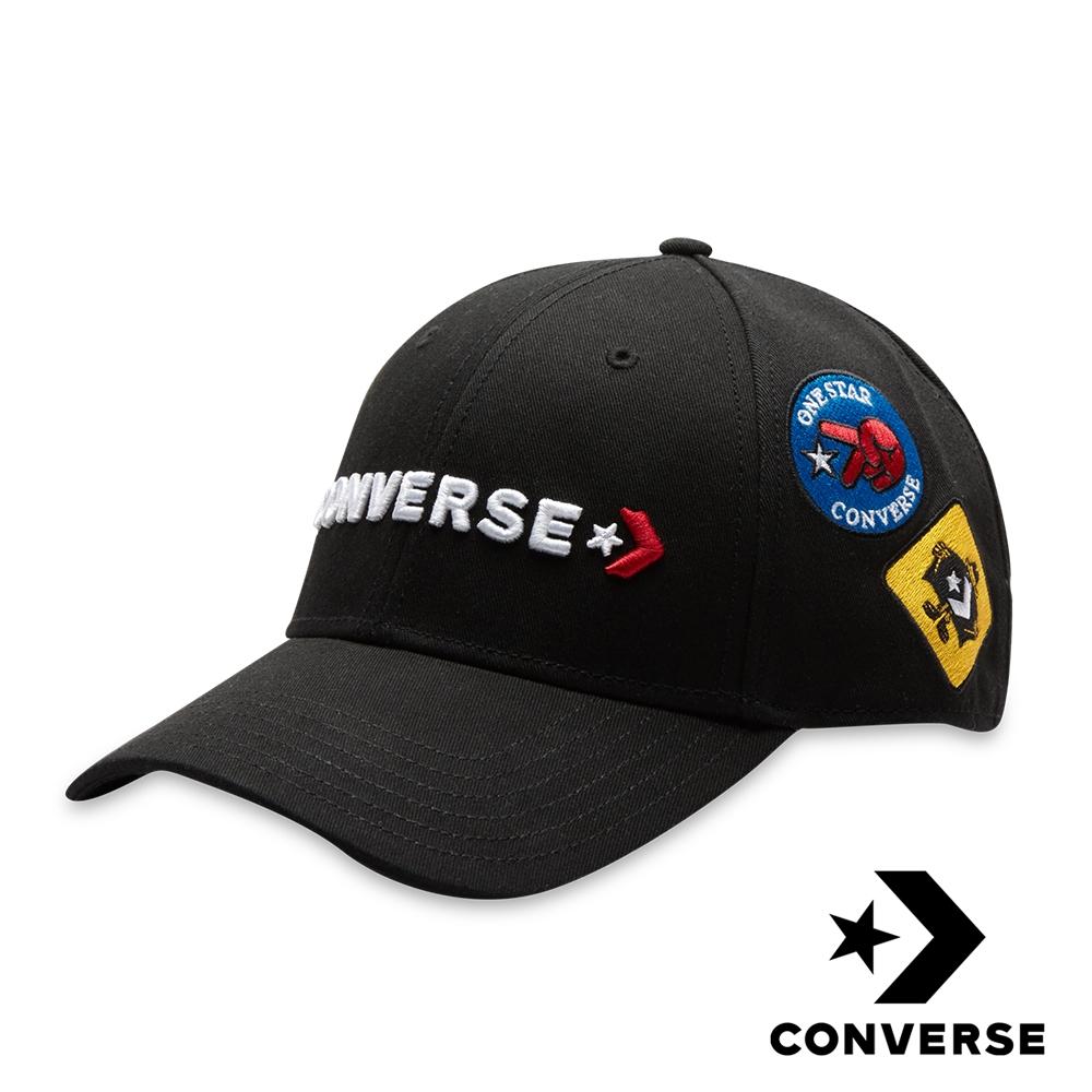 CONVERSE PATCH 貼布繡棒球帽 (黑)