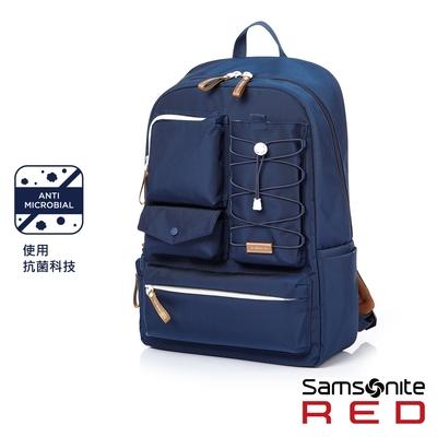 Samsonite RED MIRRE 時尚造型可拆卸筆電收納後背包15.6吋(海軍藍)