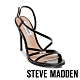 STEVE MADDEN-EDIE 露趾繞踝細高跟涼鞋-黑色 product thumbnail 1