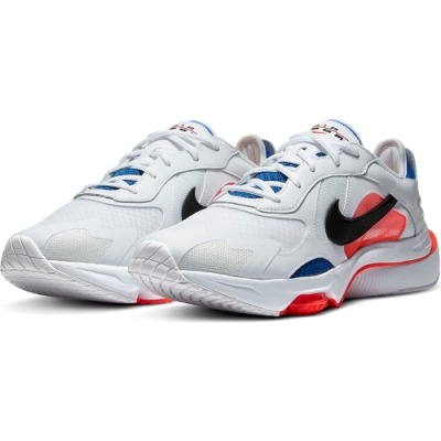 NIKE 休閒鞋  運動鞋 氣墊 緩震  男 白 藍CK2946-100 Air Zoom Division