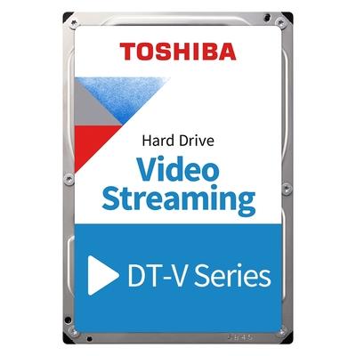 TOSHIBA AV影音監控硬碟 1TB 3.5吋 SATAIII 5700轉硬碟 三年保固(DT01ABA100V)