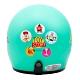玩具總動員Toystory 3/4罩安全帽  青綠色款 (小帽圍 54~57cm) product thumbnail 1