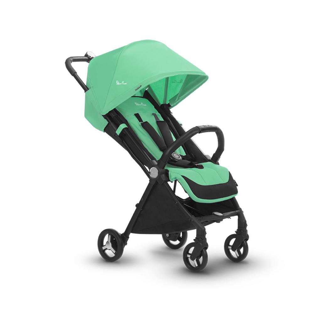 Silver Cross Jet小空巴 輕量秒收 可登機 可平躺 嬰兒手推車 0m+(薄荷綠)