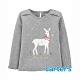 【Carter's】幸福的微笑麋鹿長袖上衣(2T-5T) (台灣總代理) product thumbnail 1