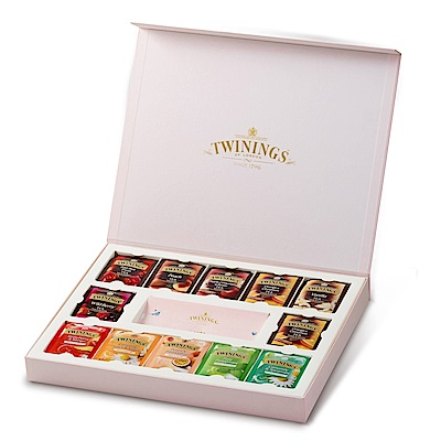 唐寧茶 Twinings 藝術家禮盒-清氛花茶系列(48茶包)
