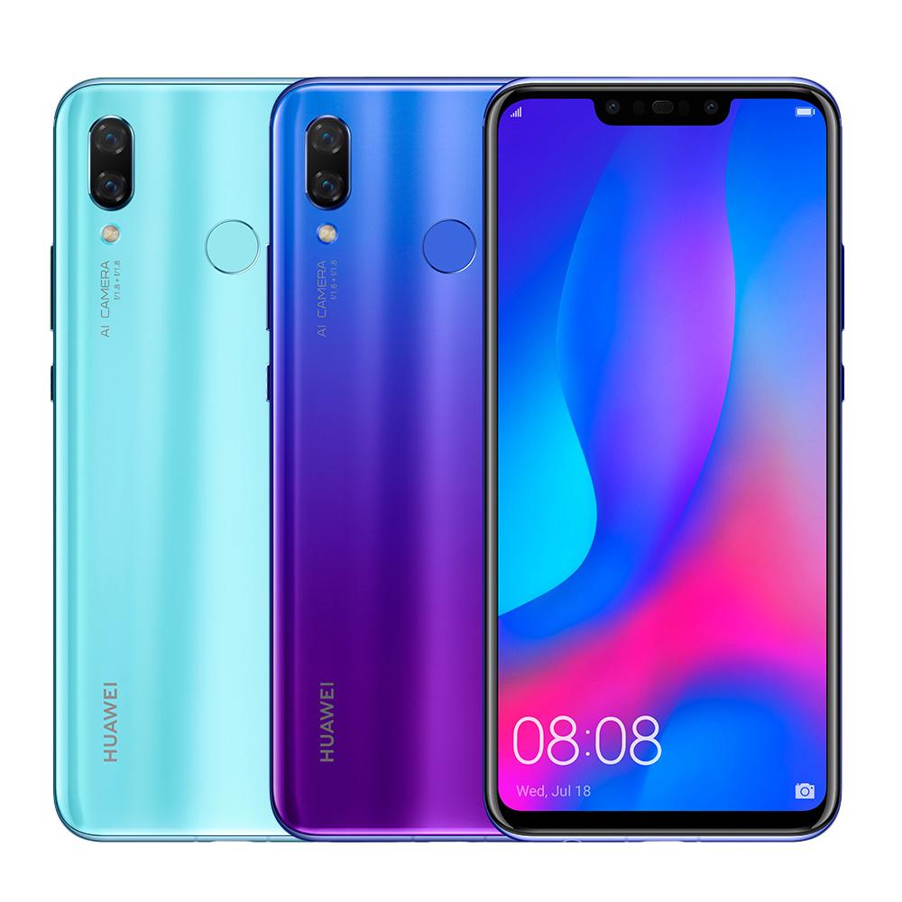 HUAWEI nova 3(6G/128G) 6.3吋四鏡頭手機 @ Y!購物