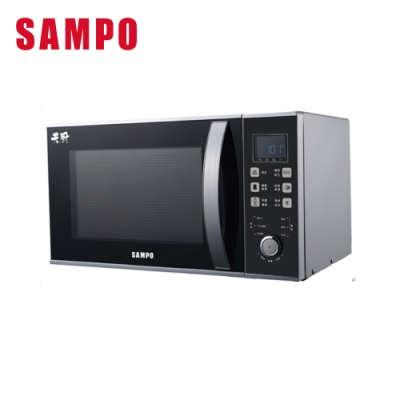(快速到貨)SAMPO 聲寶-天廚25L燒烤型微波爐 RE-N825TG