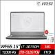 (附M365 15個月)MSI 微星 WF65 10TI 15.6吋繪圖工作站筆電 i7-10750H/T1000 4G獨顯/16G/1TB+512G PCIe SSD/Win10 Pro product thumbnail 1