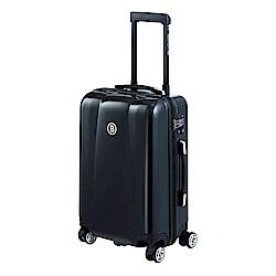 BENTLEY 20吋 PC+ABS 蜂巢纹拉鍊款輕量行李箱 -黑
