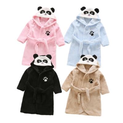 CityShop 兒童法蘭絨動物浴袍睡袍