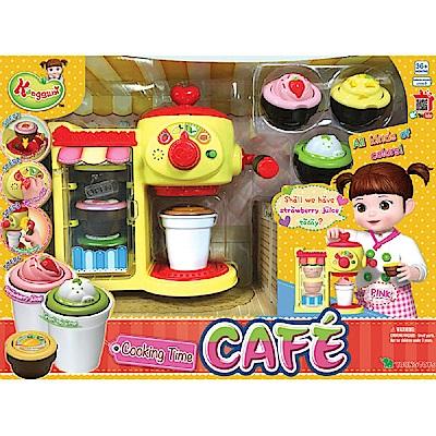 KONGSUNI 小荳娃娃 甜蜜咖啡店 YT31037 YONUG TOYS