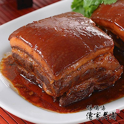 諶媽媽眷村菜 東坡肉一塊裝 500 g/包