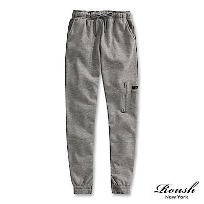 Roush MA-1側口袋設計束口棉褲(3色)