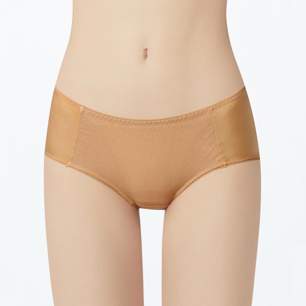 瑪登瑪朵 身呼吸 低腰平口內褲(焦糖膚)