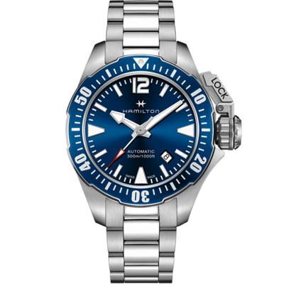 Hamilton 卡其海軍系列蛙人機械錶(H77705145)